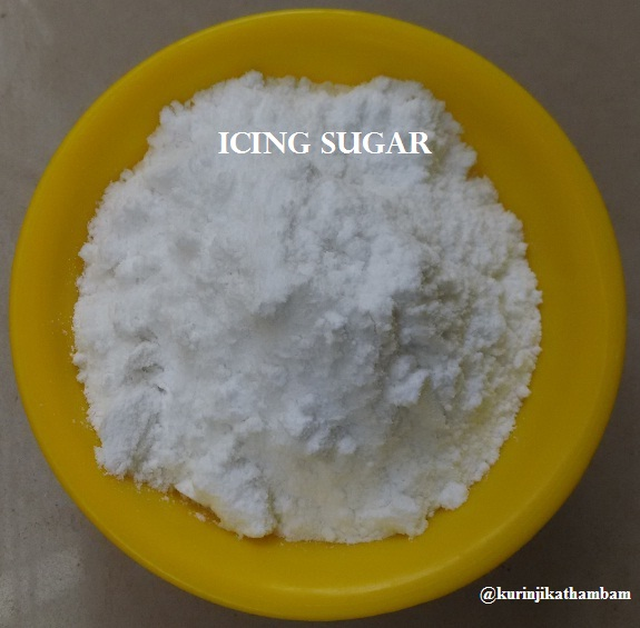 how to make icing with granulated sugar