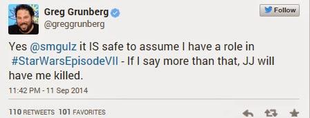 Greg Grunberg Cameo Appearance