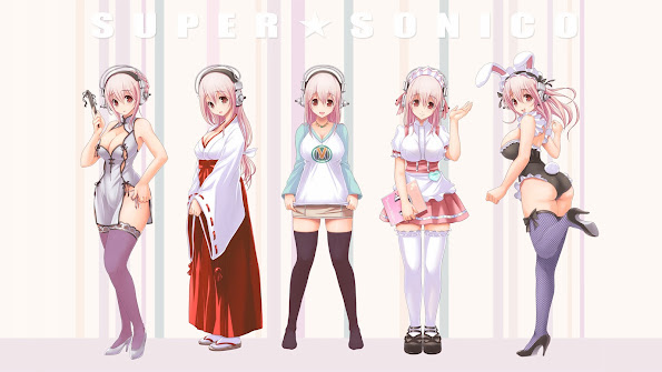 Sonico Anime Costume 9p