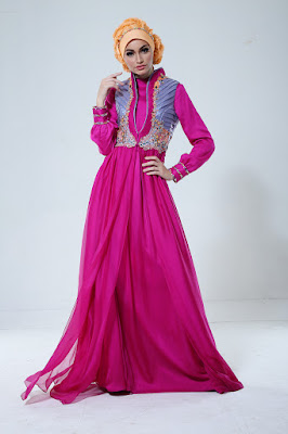 Model Baju Muslim Shafira Extravagant Terbaru 2015
