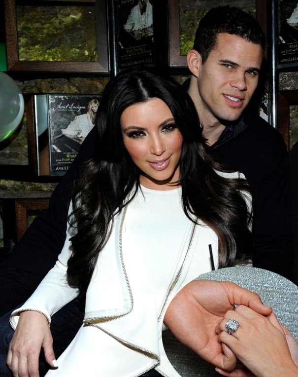Celebrities of 2012 Kim Kardashian Engagement Ring