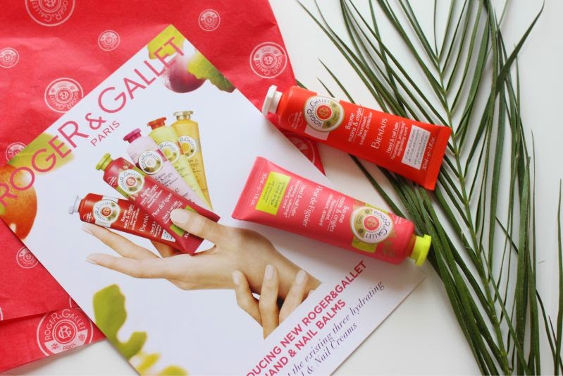 New Roger & Gallet Hand and Nail Balms