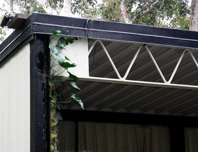 Eames House Steel Roof Joists