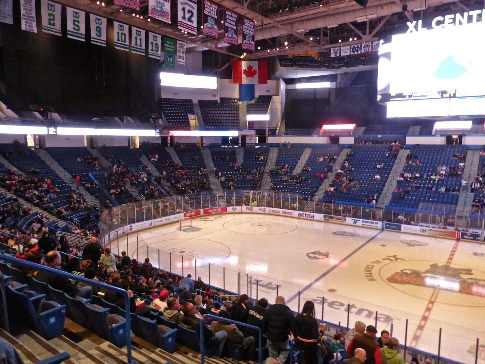 Xl center renovation updates hartford wolf pack - At The Latest That Would Be 2016 When The Hartford Yard Goats Begin Play In The Eastern League
