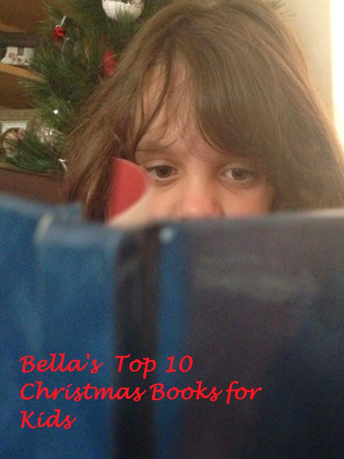 Bella's Top 10 Christmas Books for Children