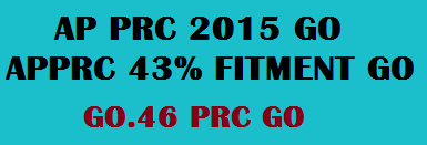 AP PRC 2015 GO 46 AP PRC 43% Fitment GO GO 46