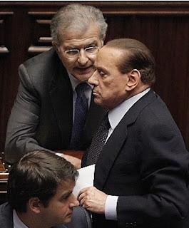 Berlusconi's anger