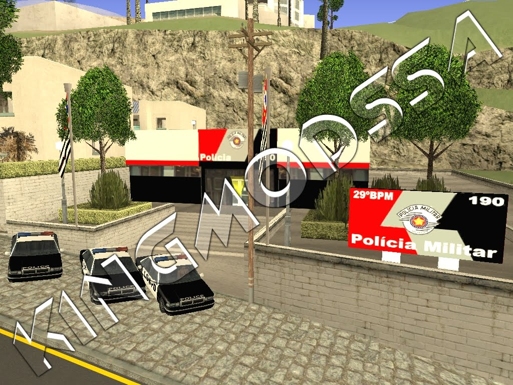 Delegacia pol 237 cia militar gta sa 171 king mods sa download de mods