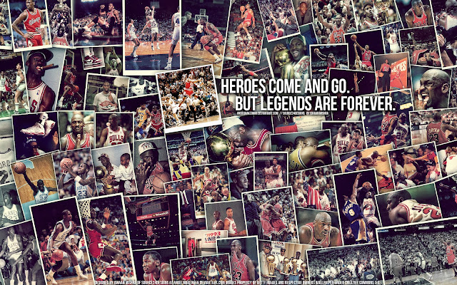 Michael Jordan Collage HD Wallpapers