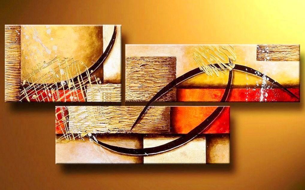 Cuadros pinturas oleos abstractos for Cuadros minimalistas