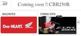 Honda CBR250R - Indonesia