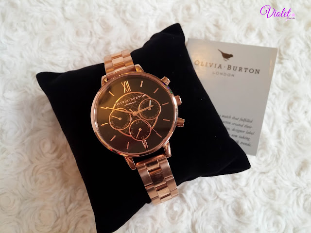olivia burton rose gold