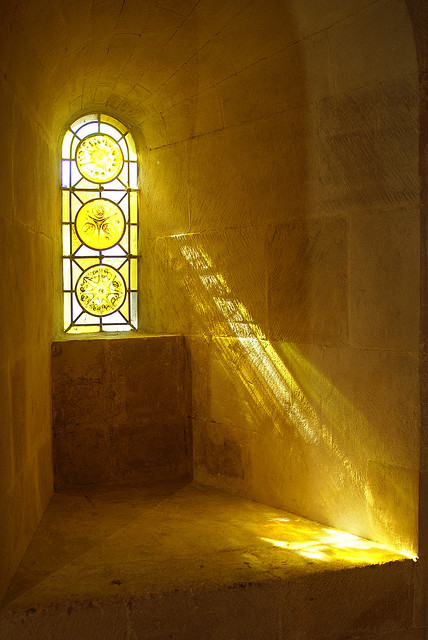 heaven can wait like a stained glass window On window lights