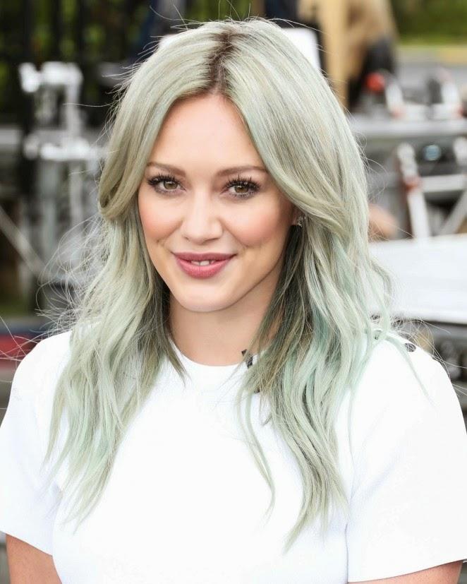 Trendy or Tacky Hilary Duffu0026#39;s New Hair? - Stylish Starlets