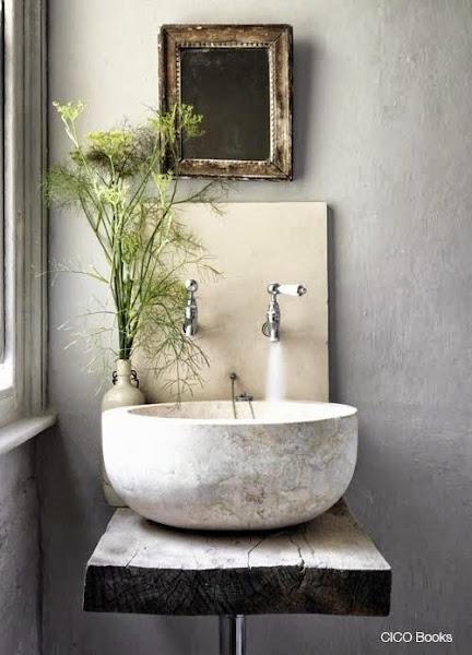 Decorar Un Baño Oscuro:Cómo decorar un baño con estilo natural