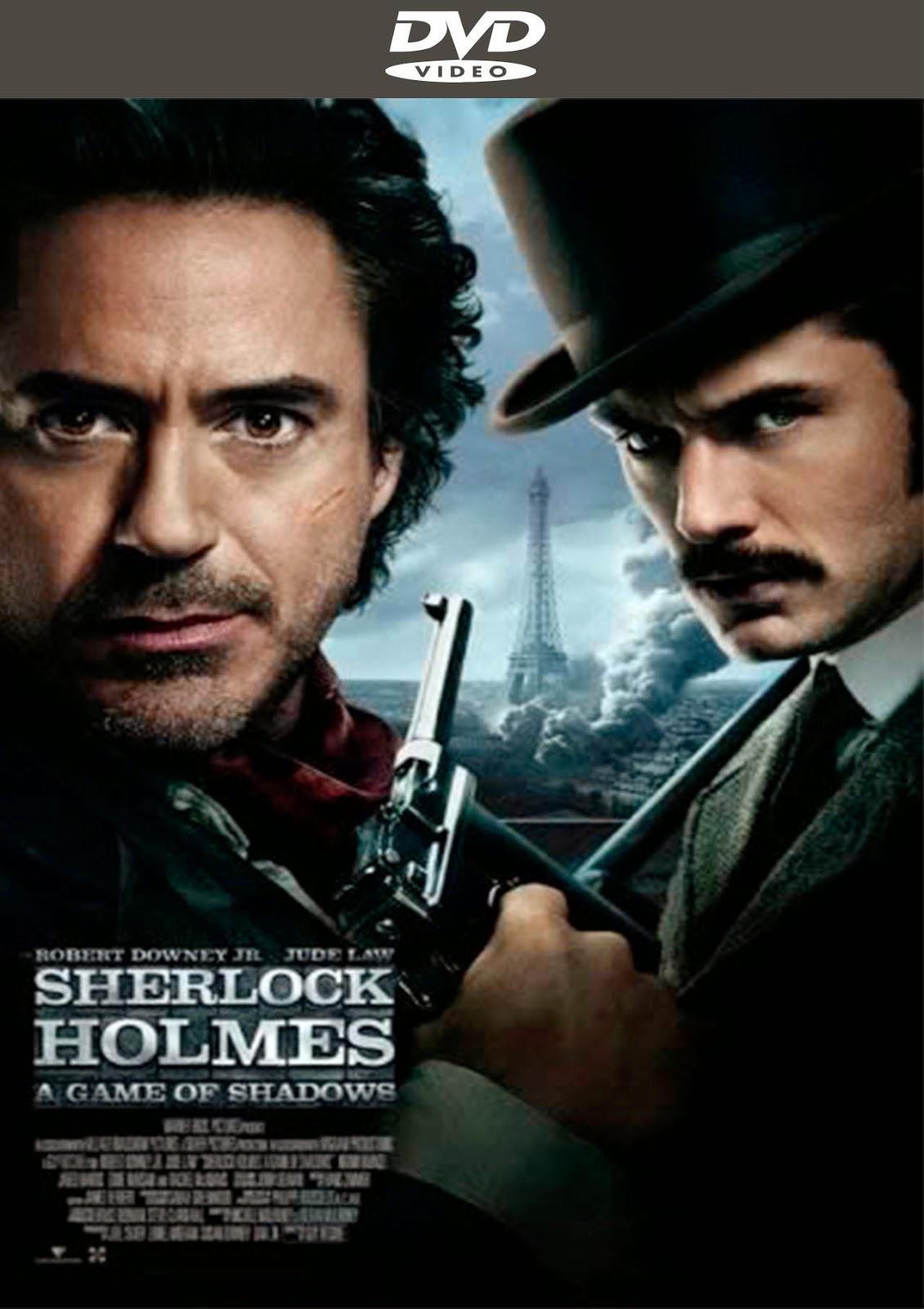 Sherlock Holmes – A Game Of Shadows [2011] [Latino] [DVD Full]