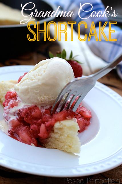 Grandma Cook's Shortcake