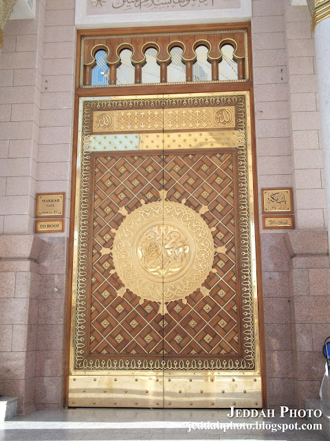 Golden Door of Masjid Nabvi