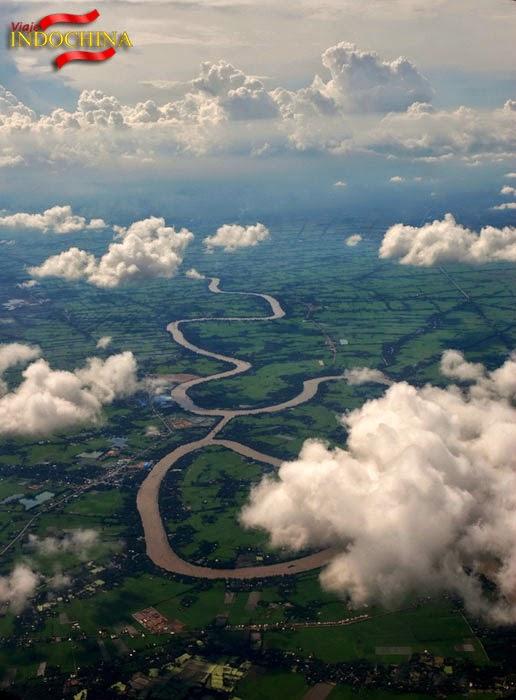 Vista general del río Mekong