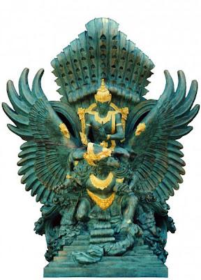 Garuda Wisnu Curi Perhatian di Yunani