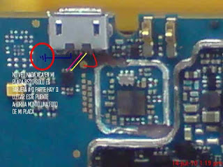 Here Is BlackBerry 8520 Charging/Not Charging Solution Cheek this way..