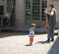 Street Entertainer in Pezenas
