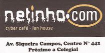 Netinho.com - A.V Siqueira Campos, Nº 442 Centro - Fone: 9982-9414