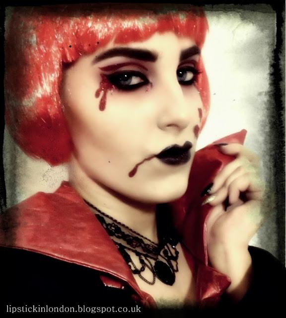 vampire makeup Halloween