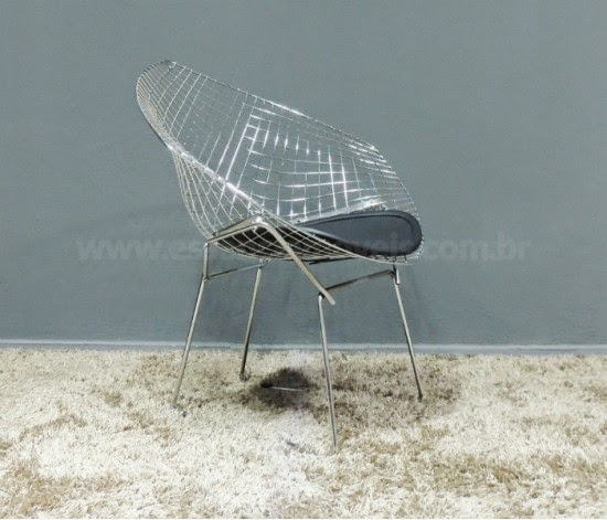 Cadeira Diamante (Diamond Chair) Harry Bertoia