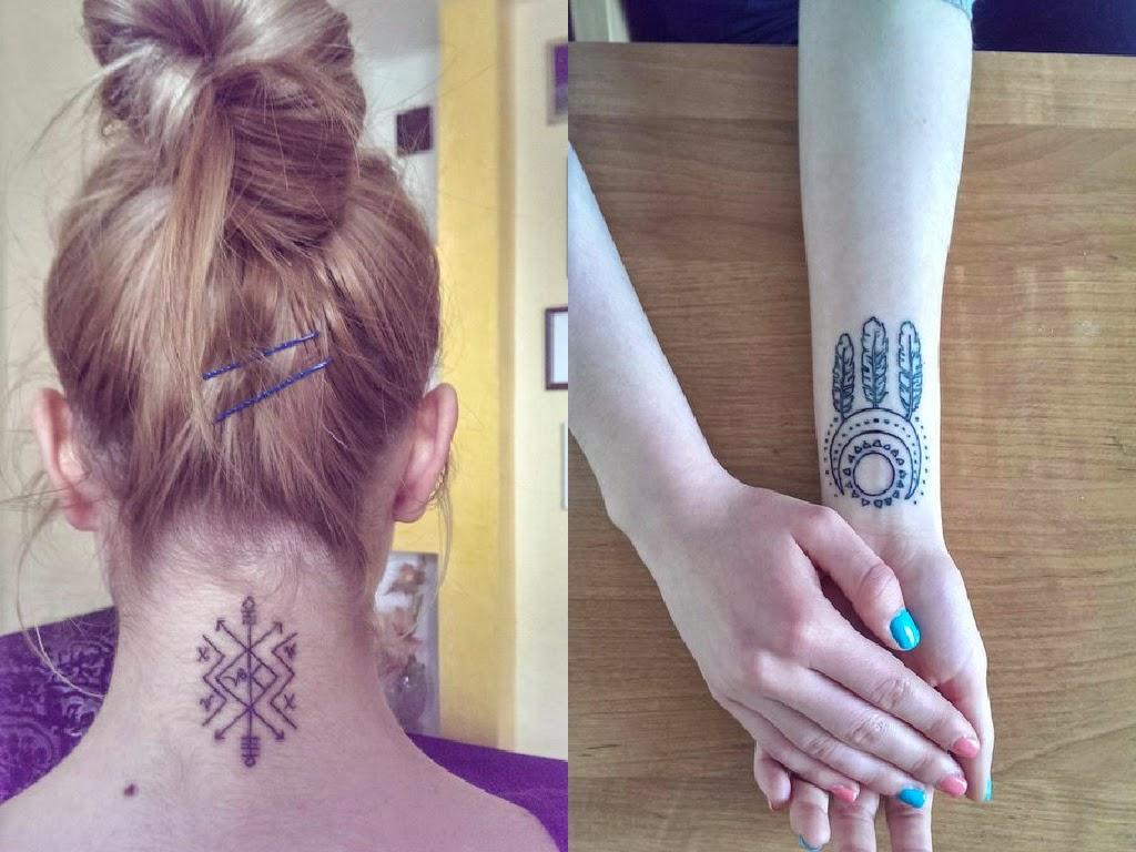 Как и чем можно сделать татуировку в домашних условиях 582