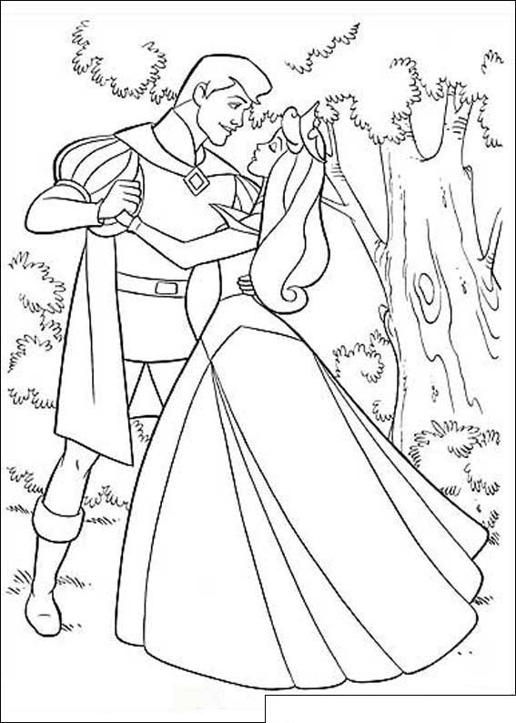 disney aurora coloring pages - photo#7