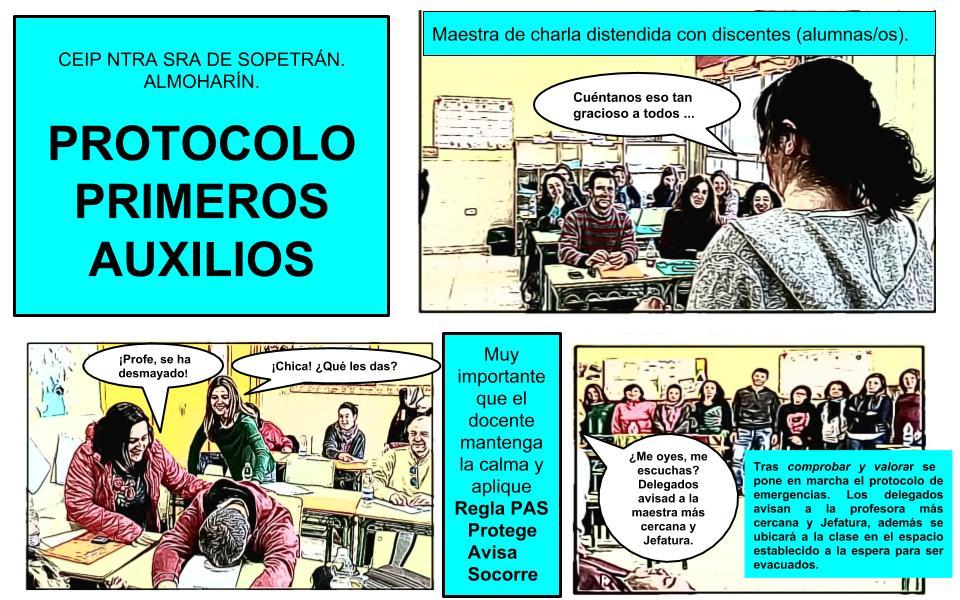 PROTOCOLO EMERGENCIAS SANITARIAS
