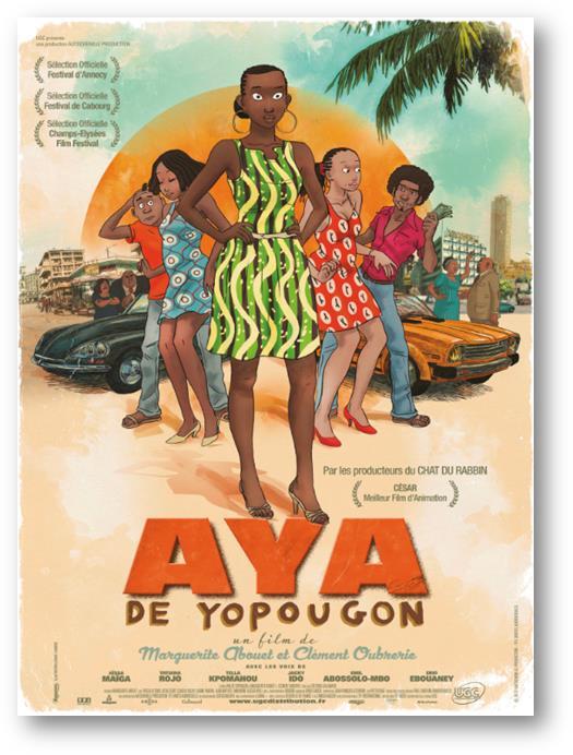 Affiche du film AYA DE YOPOUGON