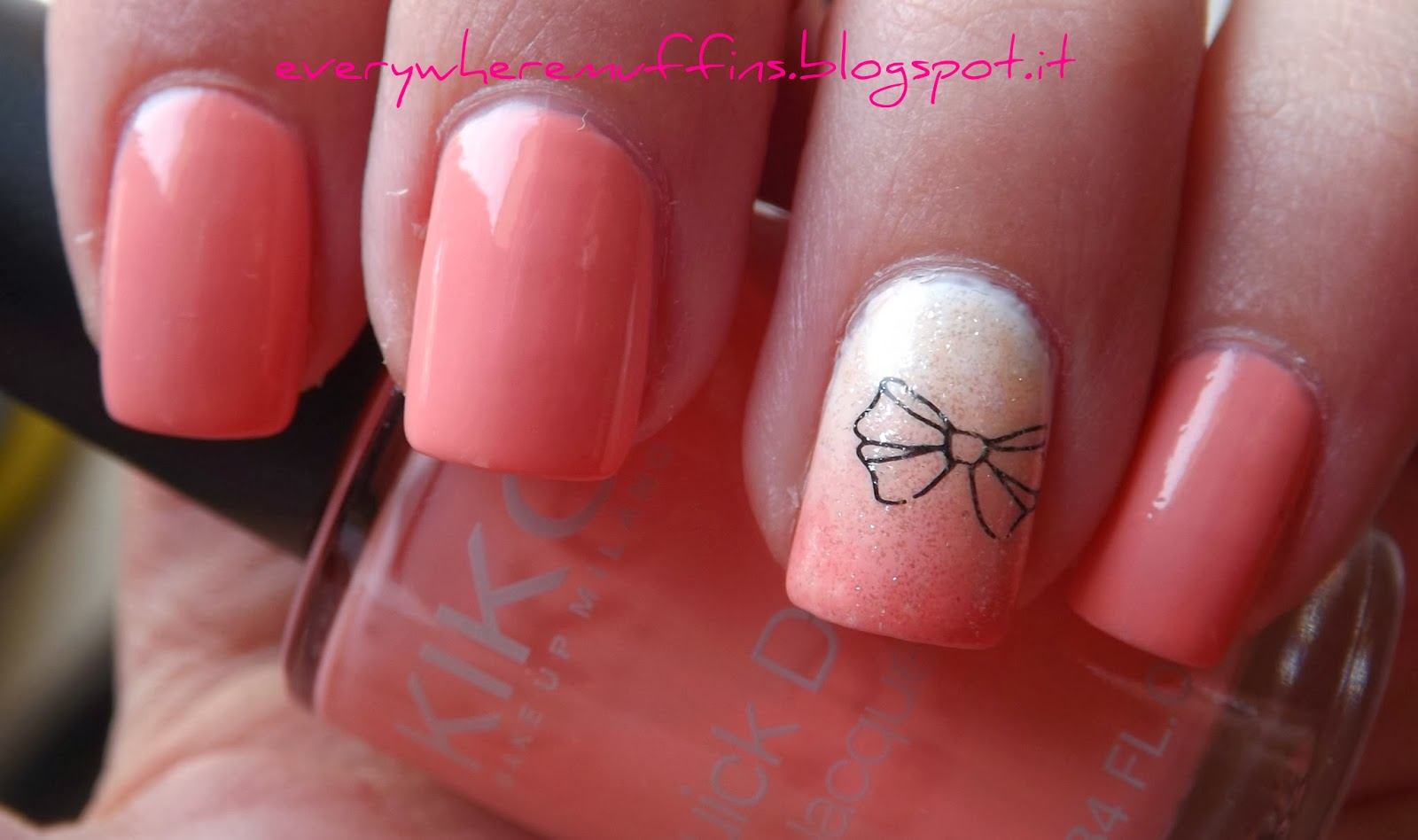 Everywhere Muffins: Accent Shade Nail Art!