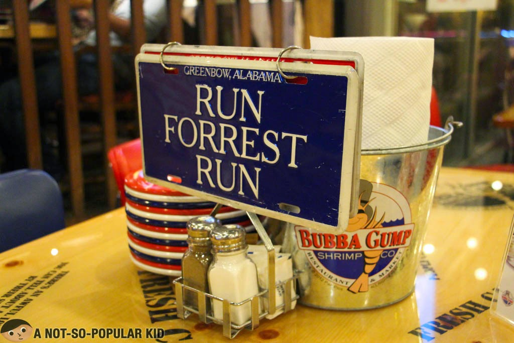 Bubba Gump Restaurant - Run Forrest Run