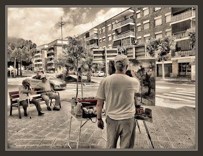 ABRERA-PINTURA-BARCELONA-CATALUNYA-PAISAJE URBANO-FOTOS-PINTOR-ERNEST DESCALS-