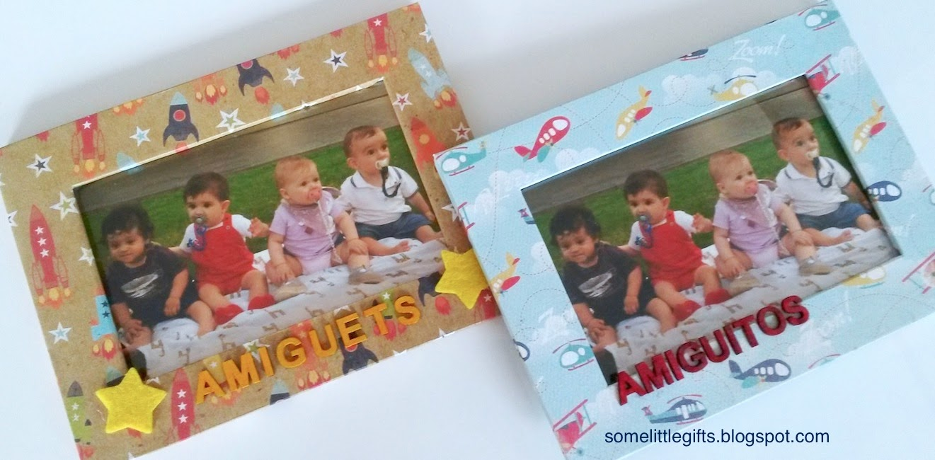 Marcos infantiles personalizados | Some little gifts