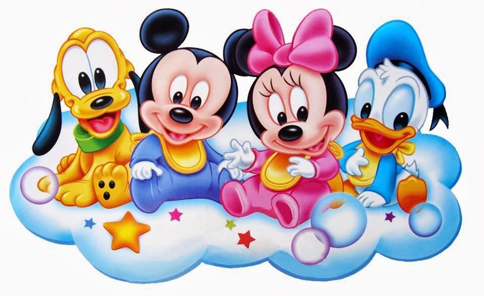 Amantes del punto de cruz p2p infantiles 2 - Personnage disney bebe ...