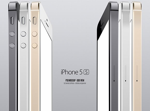 iPhone5S Side View