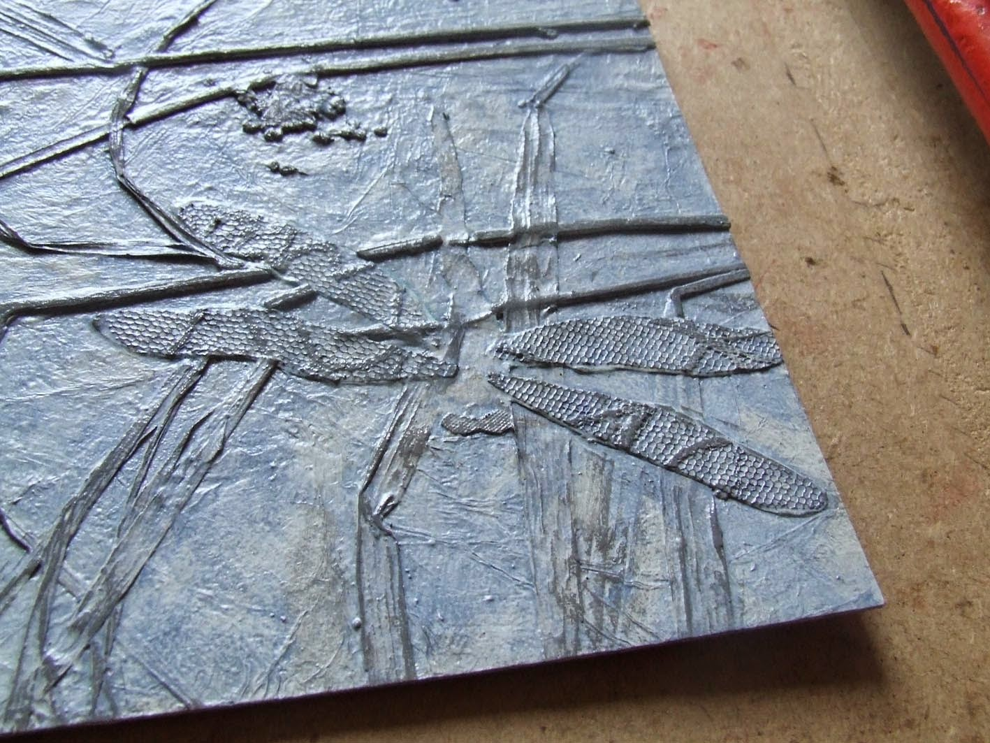 Dragonfly Collograph