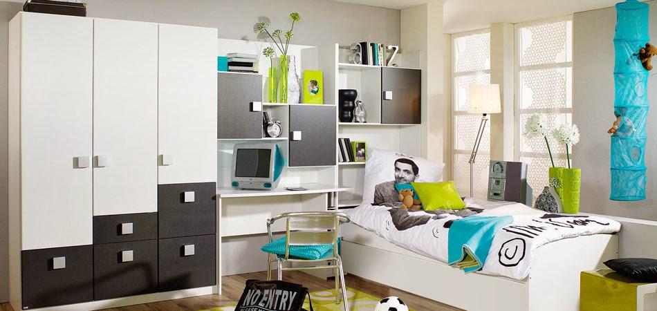 Dormitorios juveniles muy modernos ideas para decorar dormitorios - Habitaciones juveniles blancas ...