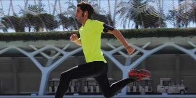 Carlos Goncer corría un km más por cada día en paro