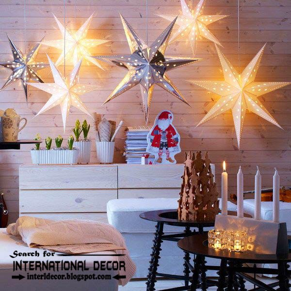 New Ikea Christmas decorations 2015, new year candles decorating ideas from ikea