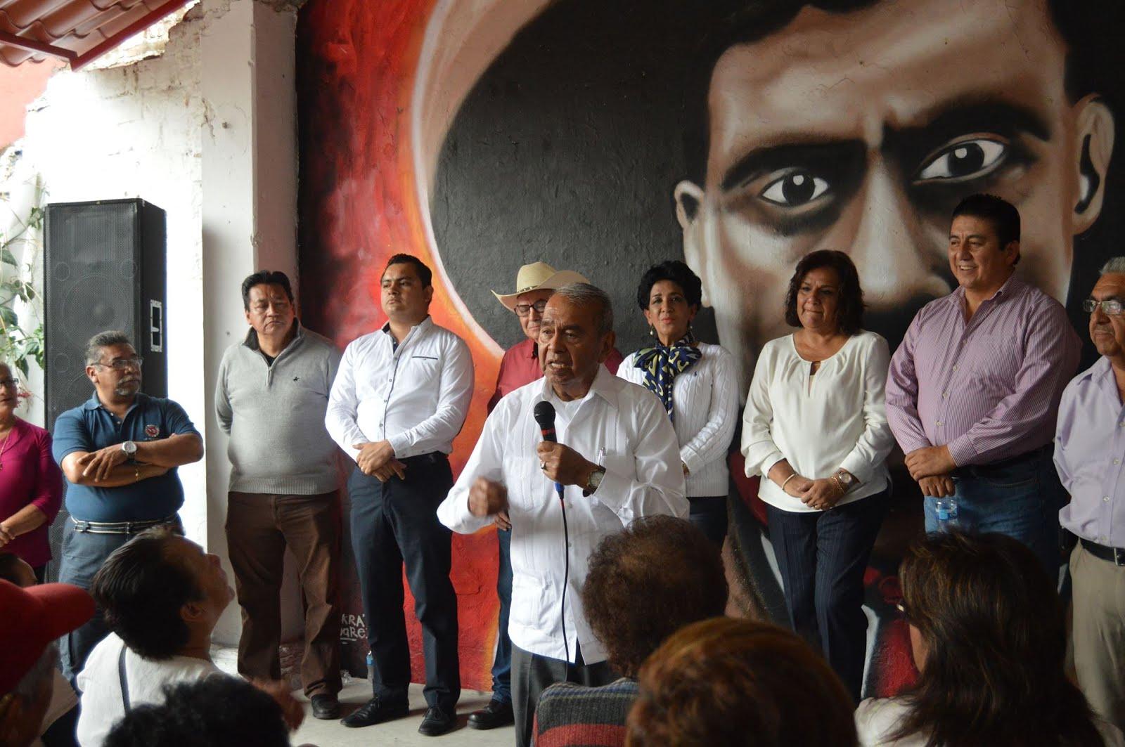 PRI EN COATEPEC NO HA MUERTO: MILITANCIA