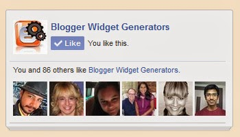 Labnol.org style Facebook Like Box Widget for Blogger