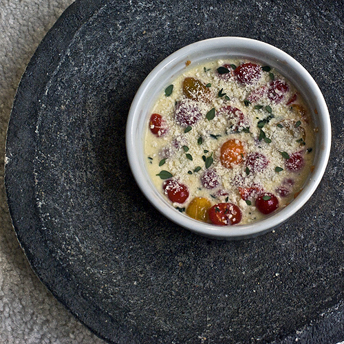 ... cherry tomato clafouti recipe on food52 tomato clafouti from tomate