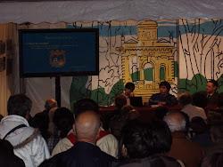 Conferencia en la Alameda de Oviedo