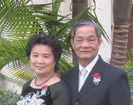 vợ chồng Lê Đông Hải