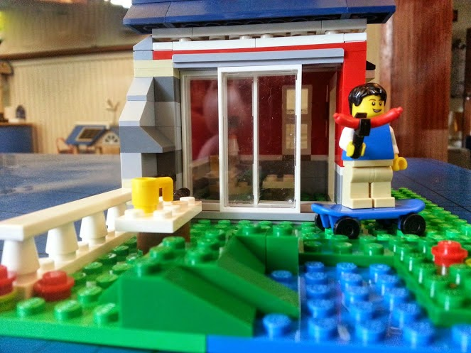 LEGO Creator 31009 Small Cottage 3in1 sliding patio doors