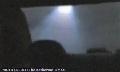 UFO Over Katherine Australia